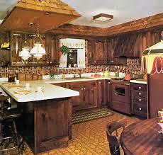 1970s Kitchen I Like The Hanging Lamps Kinda Shingles Too