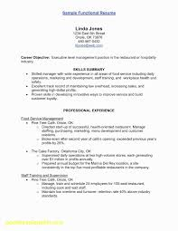 Sample Resume For Cna Elegant Rn Bsn Awesome Nurse 0d