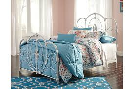 Metal Bed Full by Loriday Full Metal Bed Ashley Furniture Homestore