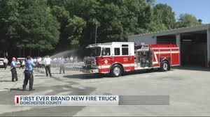 Dorchester County To Introduce First Brand New Fire Truck