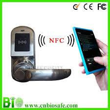 Mobile Phone NFC Open Door Card Reader NFC Door Lock HF LM9N