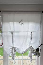 gardinen vorhänge landhaus gardine weiß mit spitze