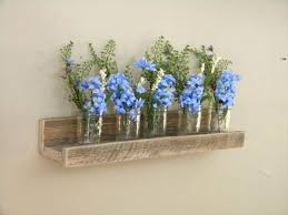 Repurposed Pallet Floating Shelf