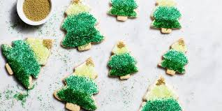 Ombre Christmas Tree Cookies Recipe