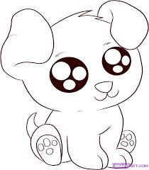 Puppy Coloring Pages 2