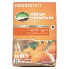 Pumpkin Spice Keurig Starbucks by Green Mountain Coffee Pumpkin Spice K Cup Coffee 18 Count