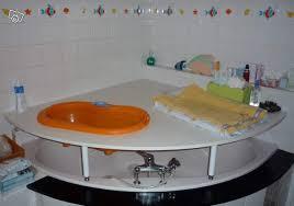 etonnant table a langer adaptable baignoire 14 baignoire bebe
