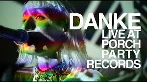 DANKE Paper Garden Live at Porch Party Records
