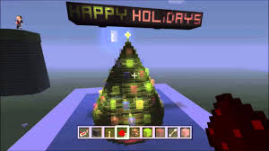 Blinking Xmas Tree Lights by Minecraft Xbox One Christmas Tree With Blinking Lights