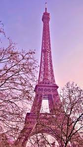 Pink Paris IPhone Wallpaper