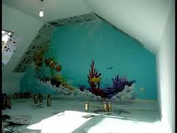 chambre dauphin aérosoleil fresque deco graff chambre d enfant thème fonds