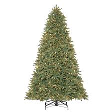 Frasier Christmas Tree Artificial by Shop Holiday Living 9 Ft Pre Lit Fir Artificial Christmas Tree