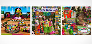 Parade Float Decorations Philippines by Luau Party Supplies Hawaiian Luau Decorations Party City