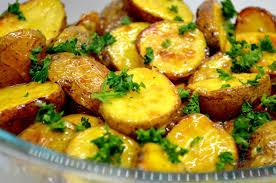 backkartoffeln mit französischer soße