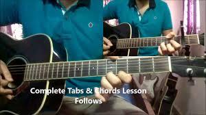 George Jones Rockin Chair Chords by Hasi Ban Gaye Guitar Chords U0026 Tabs Lesson For B With Loop