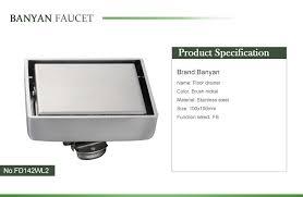 Floor Drain Backflow Device by Bathroom Concealed Floor Drain Backflow Preventer Buy Floor