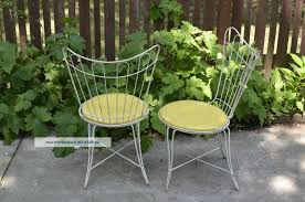green metal patio chairs lawn garden retro metal patio furniture chairs antique metal