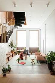 100 Lofts In Tribeca Dash Marshall Connects Two With Sculptural Staircase
