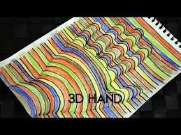 Super Cool 3 D Hand Art