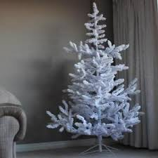 Image Is Loading 6 6ft Noble Flocked Spruce White Artificial Indoor