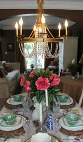 Empire Chandelier Dining Room Into Living