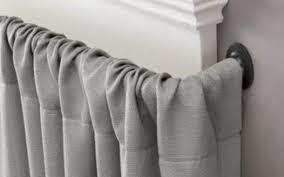 Blockaide Double Curtain Rod by Brilliant Blockaide Energy Efficient Curtain Rod Energy Efficient