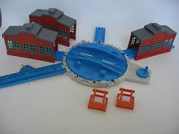 Trackmaster Tidmouth Sheds Ebay by Tidmouth Turntable U0026 Sheds Trackmaster Train Track Set Tomy