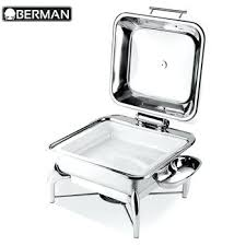Cold Buffet Server 5 Star Hotel Kitchen Equipment And Hot Ceramic Food Warmer Chafing Dish