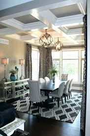 Dining Table Carpet Room Protector Best Rug Under Ideas On Formal