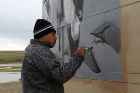 100 Andrew Morrison Artist Deering Residents Collaborate With Artist To Capture The Impact Of