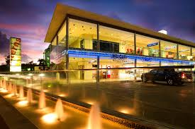 Barbados Caribbean Modern Architecture Shopping Center