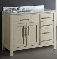 46 Inch Bathroom Vanity by Neoteric Ideas Cabinets To Go Bathroom Vanity 2016 Designs Home