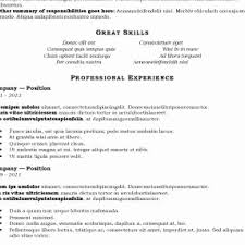 Resume Format Pdf Free âu2020 42 Resume Template Pdf Simple Resume Format