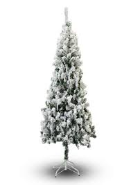 Flocking Christmas Tree With Soap by Snow Flocked Christmas Tree Christmas Lights Decoration