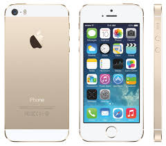 Apple iPhone 5s 32GB Smartphone Cricket Wireless Gold Good