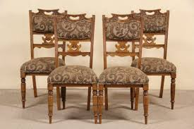 SOLD - Set Of 4 Antique 1900 Oak Art Nouveau Dining Or Game Table ... Set Of 8 Vintage Midcentury Art Nouveau Style Boho Chic Italian Stunning Of Six Inlaid Mahogany High Back Chairs 2 Pair In Antiques Atlas Lhcy Solid Wood Ding Chair Armchair Lounge Nordic Style A Oak Set With Table Seven Chairs And A Side Ding Suite Extension Table France Side In Leather Chairish Gauthierpoinsignon French By Gauthier Louis Majorelle Caned An Edouard Diot Art Nouveau Walnut And Brass Ding Table Four 1930s American Classical Shieldback 4