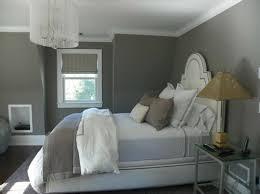 chambre grise et blanc murs et ameublement chambre tout en gris tendance