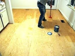 Plywood Flooring Ideas Painting Finished Homemade Living Room Sheet