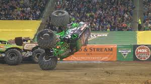 Grave Digger Pulls Incredible Save In Detroit Freestyle - 2016 ... Grave Digger Rhodes 42017 Pro Mod Trigger King Rc Radio Amazoncom Knex Monster Jam Versus Sonuva Home Facebook Truck 360 Spin 18 Scale Remote Control Tote Bags Fine Art America Grandma Trucks Wiki Fandom Powered By Wikia Monster Truck Spiderling Forums Grave Digger 4x4 Race Racing Monstertruck J Wallpaper Grave Digger 3d Model Personalized Custom Name Tshirt Moster