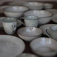 Dinnerware Set Round Rustic Service For 4 View Larger