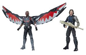Avengers Infinity War Marvel Legends Falcon And Winter Soldier