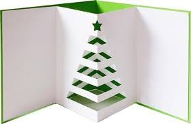 Pop Up Christmas Cards Out Tree Card Svg Dxf Pdf Files On Craftsuprint