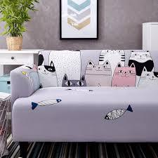 canap taille universel élastique imprimé canapé couverture style multi
