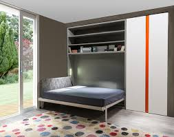 Clei Murphy Bed by Pull Down Double Bed With Cabinet Circe 256 By Clei Home