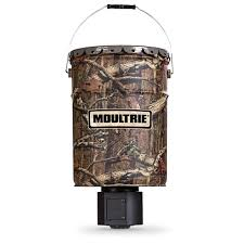 Moultrie Quiet 6 5 gallon Hanging Deer Feeder Feeders at
