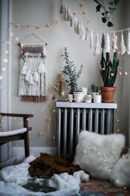 A Cozy Holiday With Urban Outfitters Bohemian Style BedroomsBohemian DecorWall