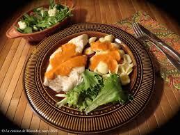 que cuisiner recette land recette de filets d aiglefin poêlés sauce rosée
