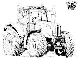Coloriage Tracteur Massey Ferguson Excellent Coloriage De Tracteur