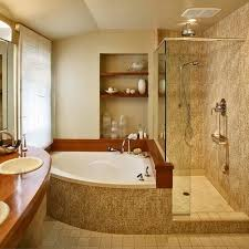 50 amazing bathroom bathtub ideas corner tub shower small