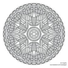 Sacred Geometry Coloring Book Pdf Preview Of Advanced Mandala By Colouring